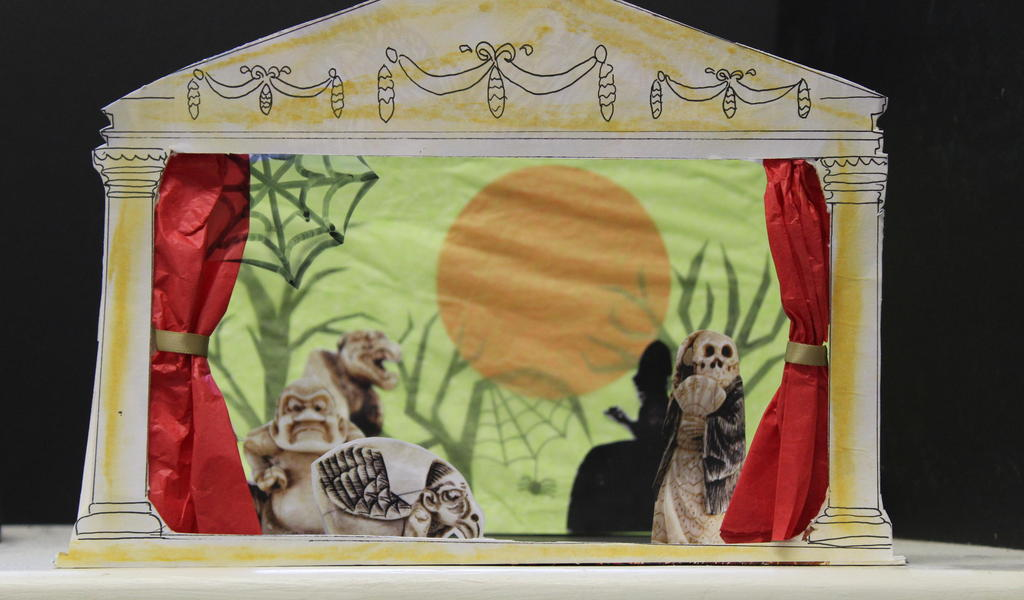 Image: Spooky stage set