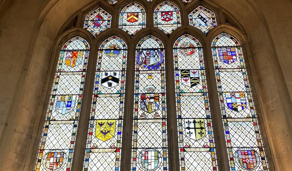 Image: Stained glass window