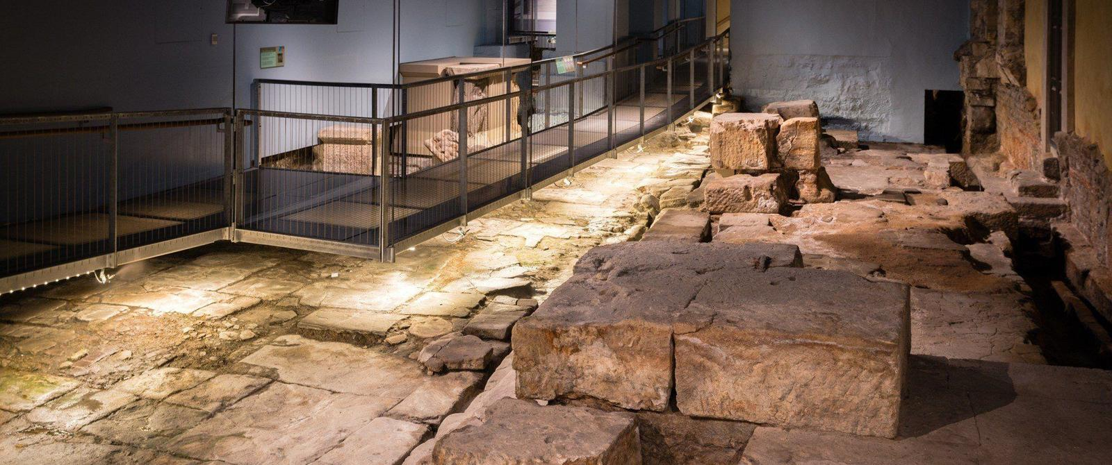 Temple Precinct at the Roman Baths