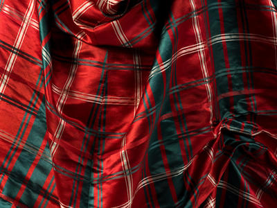 Image: Tartan dress