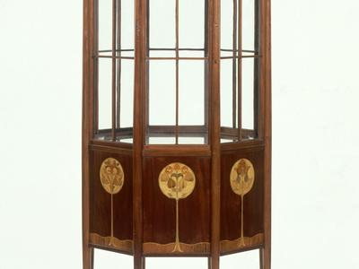 Image: Arts and Crafts Vitrine from Bath Cabinet Makers