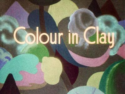 Image: Film Colour in Clay